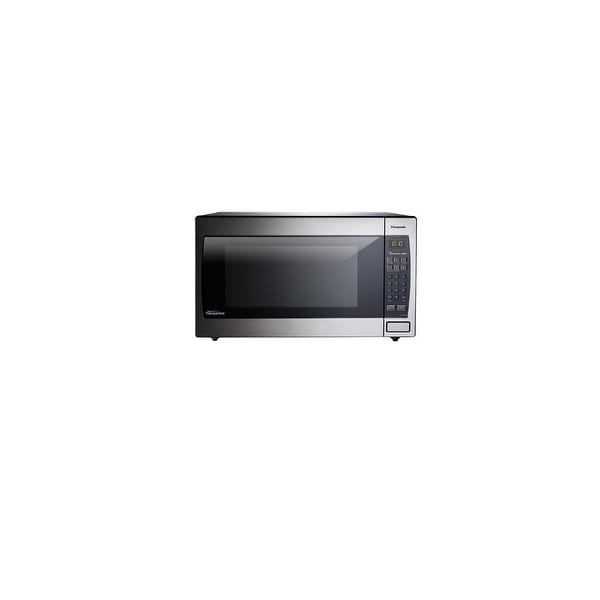 Panasonic Nn Sn966s 2 Cu Ft Microwave Oven Free Shipping Today 15155845