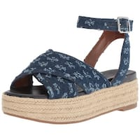 Nine West Womens Showrunner Open Toe Casual Ankle Strap Sandals