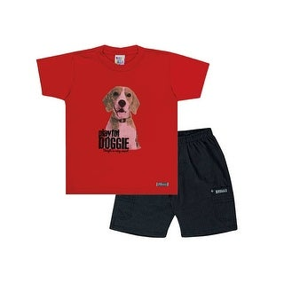 Toddler Boy Outfit Graphic Tee and Shorts Set Pulla Bulla Sizes 1-3 Years