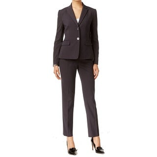 Tahari By ASL NEW Black Women's Size 12 Pinstriped Pant Suit Set