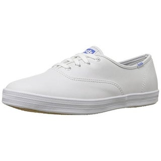 Keds Girls Champion Casual Shoes Solid Leather