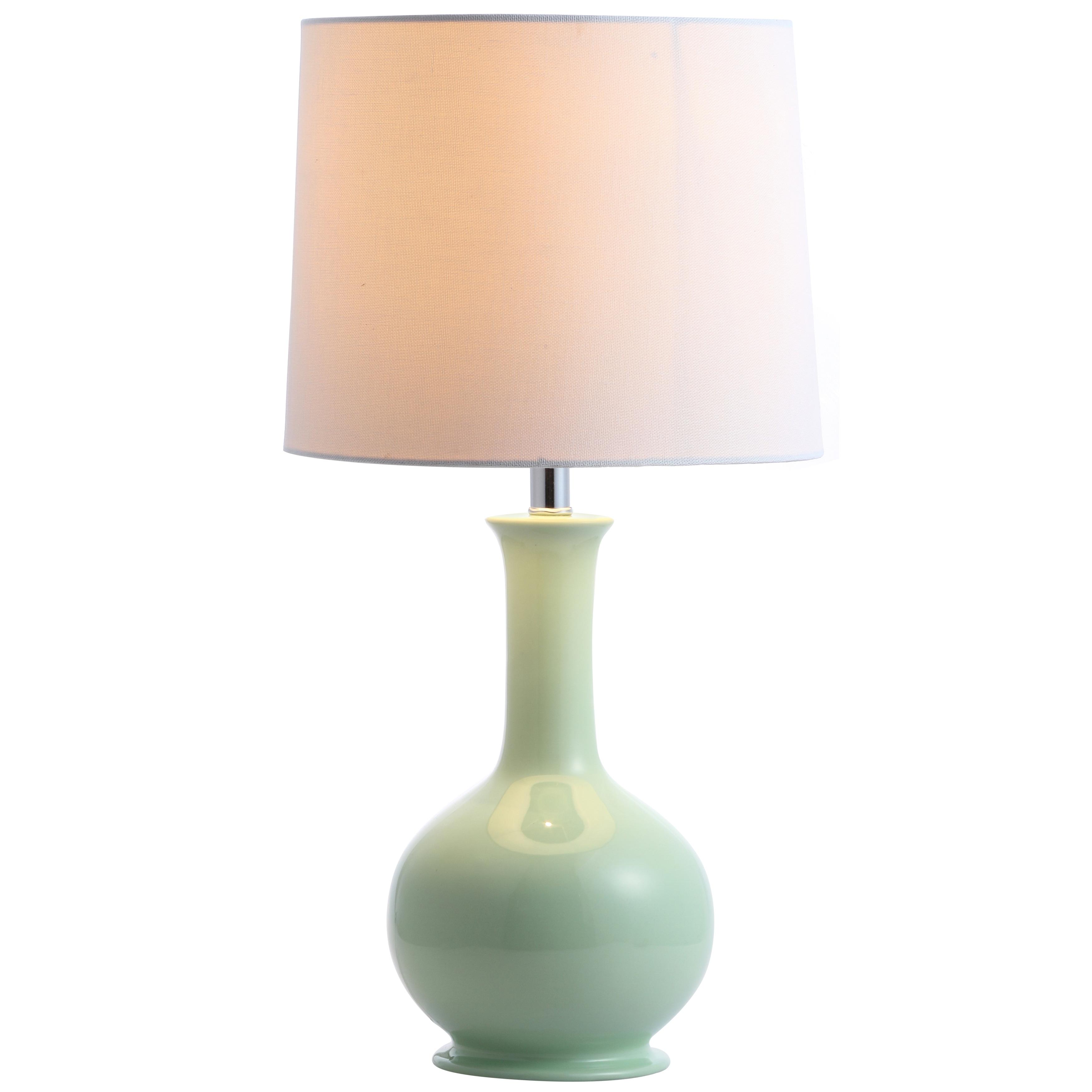 Safavieh Lighting 20 Inch Minton Led Table Lamp 10 X10 X19 5 Overstock 22256135