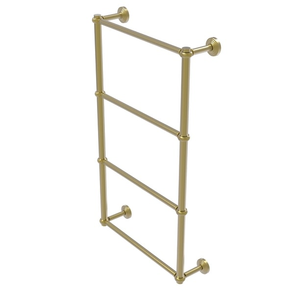 Allied Brass Waverly Place Collection 4 Tier Ladder Towel Bar with Twisted Detail