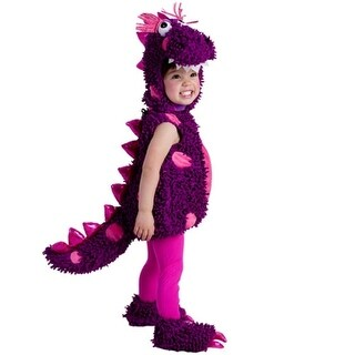Baby Girls Purple Pink Paige The Dragon Bubble Halloween Costume 12M-24M