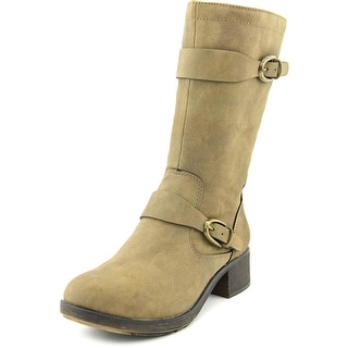 Style & Co Clemint Women Round Toe Synthetic Brown Mid Calf Boot