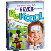 Be Koool Gel Sheets For Kids Fever 4 Each