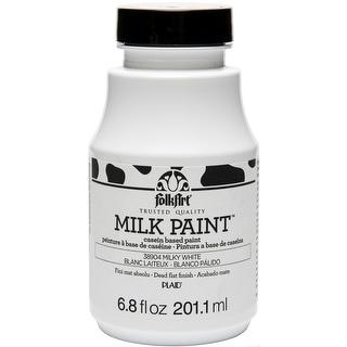 FolkArt Milk Paint 6.8oz-Milky White