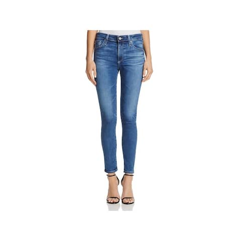 Adriano Goldschmied Womens Ankle Jeans Skinny Ankle