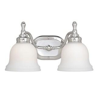 Vaxcel Lighting CL-VLD002 Cologne 2 Light Bathroom Vanity Light - 14 Inches Wide