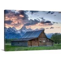 Premium Thick-Wrap Canvas entitled Grand Tetons National Park - Multi-color