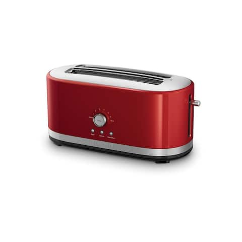KitchenAid 4-Slice Long Slot Toaster with High Lift Lever, KMT4116