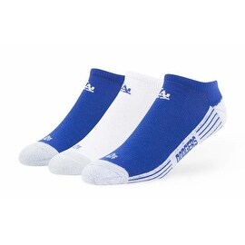 Los Angeles Doders No Show Socks (3 pack)