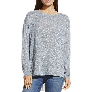 Two by Vince Camuto Womens Pullover Sweater Knit Applique