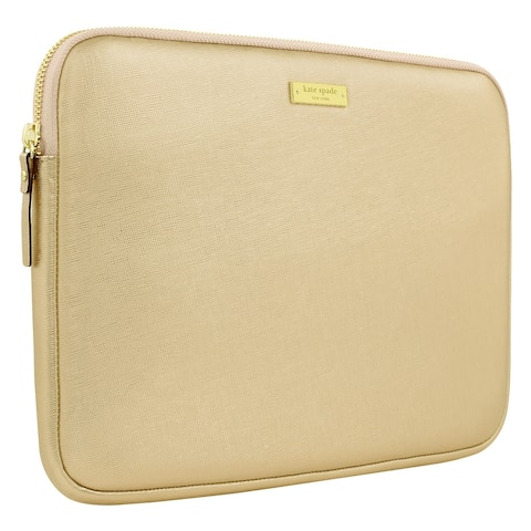 Kate Spade Saffiano Sleeve for Surface Pro (Metallic Gold)