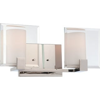Nuvo Lighting 60/5272 Walker 2 Light Bathroom Vanity Light - polished nickel