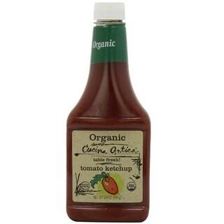 Cucina Antica Foods - Organic Tomato Ketchup ( 12 - 24 oz bottles)