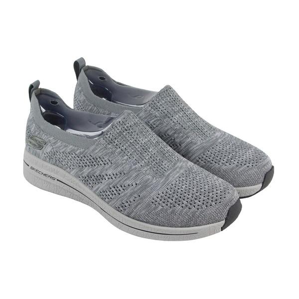 434b858cf62fb Skechers Burst 2.0 Haviture Mens Gray Textile Athletic Slip On Training  Shoes