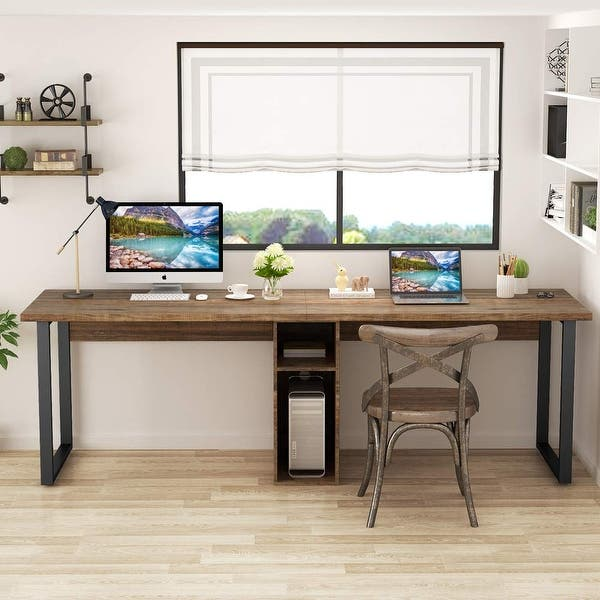 78 Extra Large Double Workstation