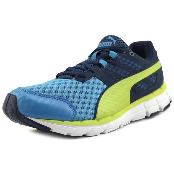 Puma Poseidon V2 Men Blue-Poseidon-Sulphur Tennis Shoes