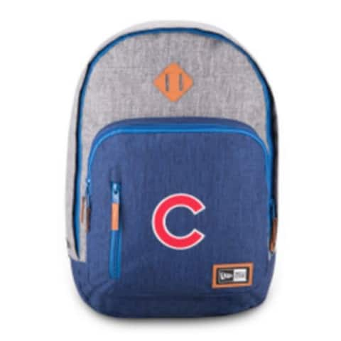 New Era Chicago Cubs Cram Action Backpack MLB Baseball Team Laptop Slot Cubbies - One Size