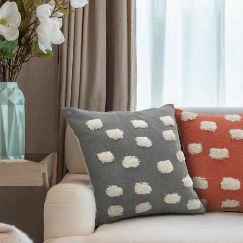 Pom Pom Palace Glam Throw Pillow