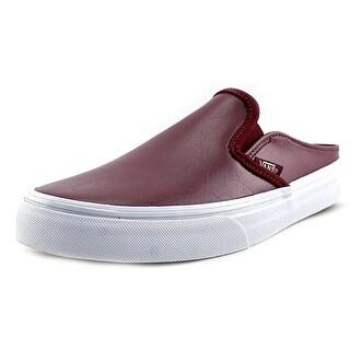 Vans Classic Slip-On Mule Round Toe Leather Mules