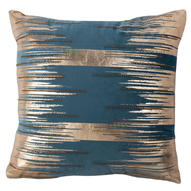 Modern Teal Decorative Throw Pillow  from ak1.ostkcdn.com