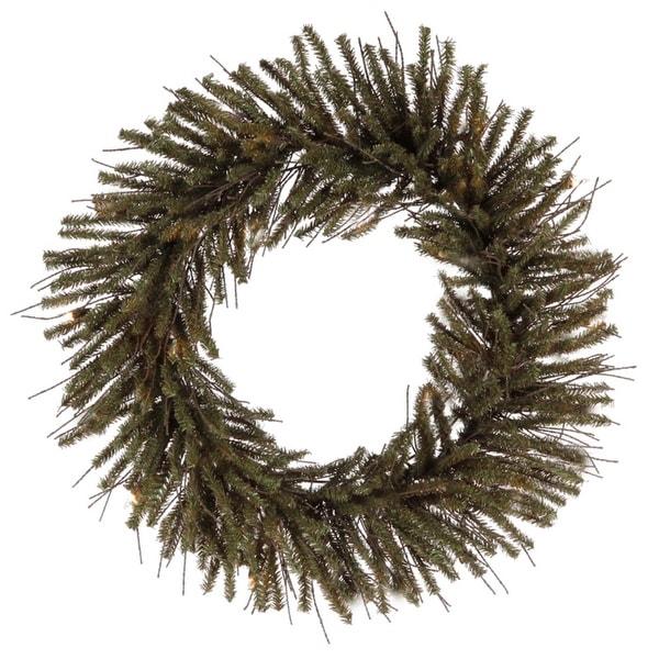 "20"" Vienna Twig Artificial Christmas Wreath - Unlit"