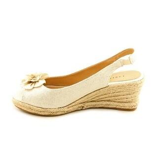 Karen Scott Women's Daisy Slingback Wedge Sandals