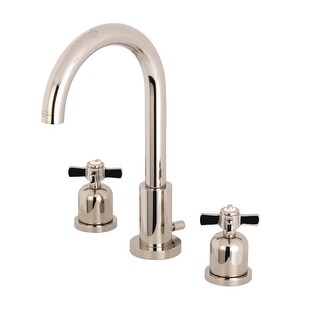 Link to Kingston Brass FSC892.ZX Millennium 1.2 GPM Widespread Bathroom Faucet Similar Items in Faucets