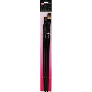 Donna Dewberry Woils Brush Set-3/Pkg