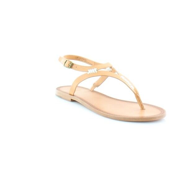 Frye Ruth Whipstitch Women's Sandals Natural