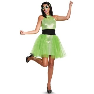 Disguise Buttercup Deluxe Teen/Adult Costume - Green
