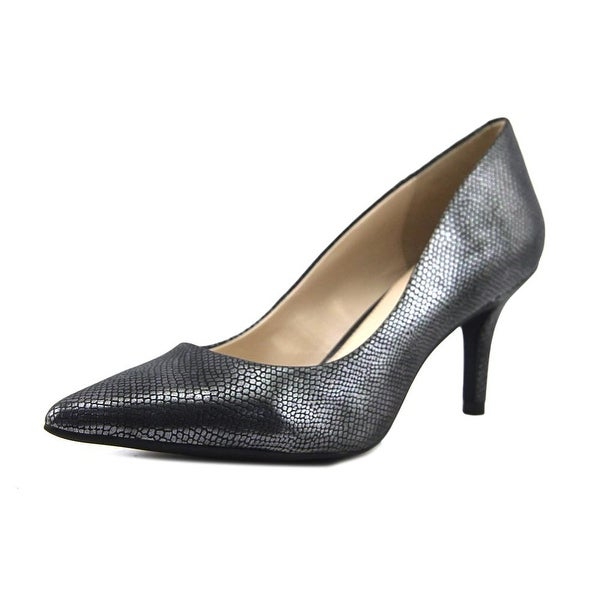 Alfani Jeules Women Pewter Lizard Pumps