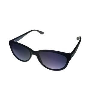 Kenneth Cole Reaction Sunglass Black Plastic Cateye, Gradient Lens KC1256 1B - Medium