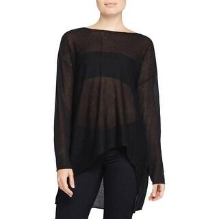 Eileen Fisher Womens Pullover Sweater Lightweight Long Sleeve