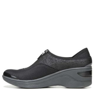 BZees Womens DIVA Fabric Low Top Slip On Fashion Sneakers