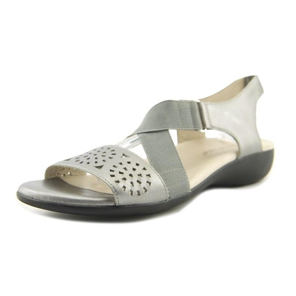 David Tate Alma Pewter Sandals