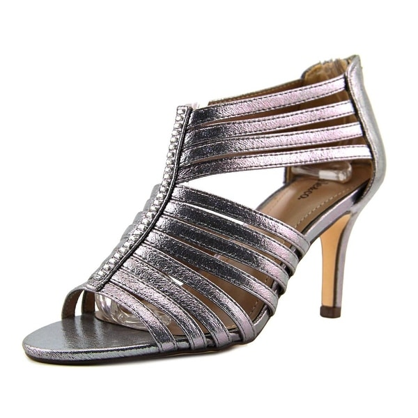 Style & Co Shaynaa Women Pewter Sandals