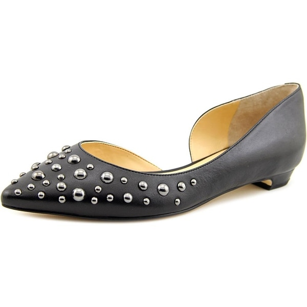 Ivanka Trump Tappin Pointed Toe Leather Flats