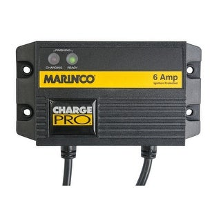 Marinco Waterproof One Bank Charger 6A/124 120V 28106