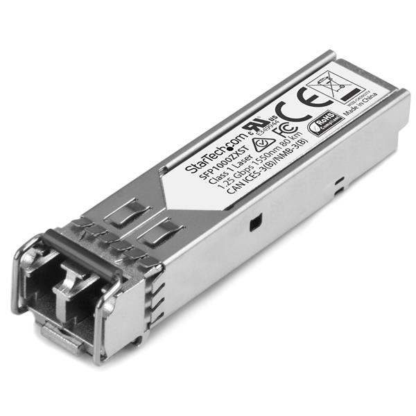 Startech Sfp1000zxst 80Km Gigabit Fiber 1000Base-Zx Sm Lc Sfp Transceiver Mdl