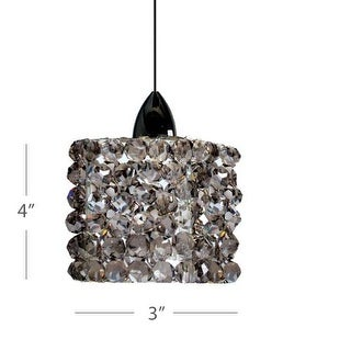 WAC Lighting QP539 Mini Haven 1 Light Low Voltage Quick Connect Track Pendant - 4 Inches Wide