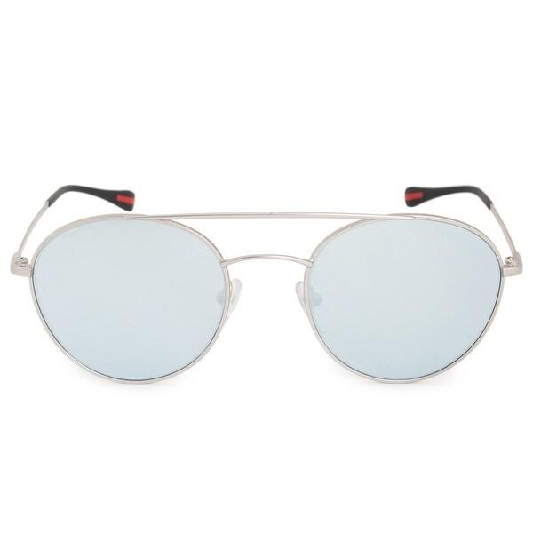 9e1ad17717da Shop Prada Aviator Sunglasses PS51SS 1AP5Q0 51 - Free Shipping Today ...
