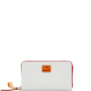 Dooney & Bourke Patterson Leather Zip Around Phone Wristlet (Introduced by Dooney & Bourke at $118 in Dec 2016)