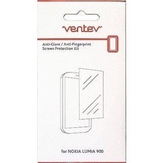 Ventev Anti-Glare Anti-Fingerprint Screen Protectors for Nokia Lumia 900 - Clear