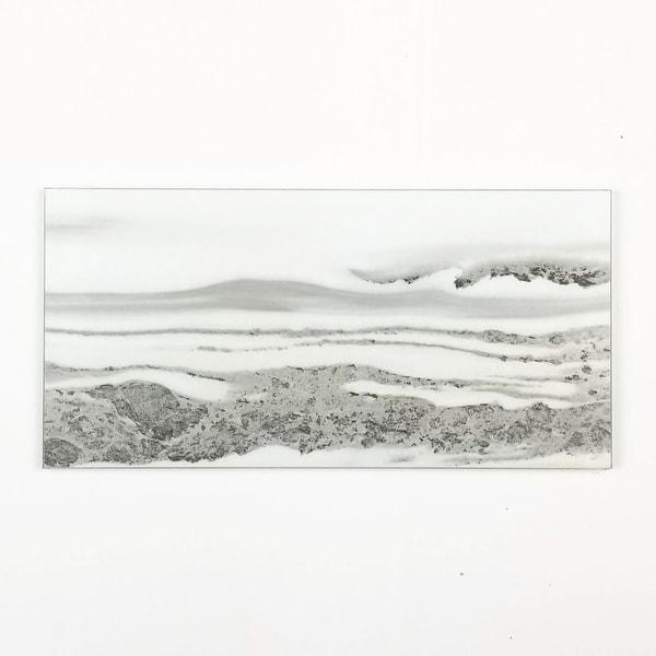 "Miseno MT-WHSWTJ0408-UC Nature - 4"" x 8"" Rectangle Wall Tile - Matte Visual - Gray"