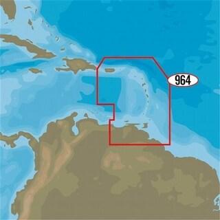 C-Map NA-D964 4D Puerto Rico to Rio Orinoco Local Map