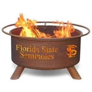 Patina Products F211 Florida State University Fire Pit - Bronze|https://ak1.ostkcdn.com/images/products/is/images/direct/2544c764851ef637e85ef574f1b50427f57faa37/Patina-Products-F211-Florida-State-University-Fire-Pit.jpg?impolicy=medium
