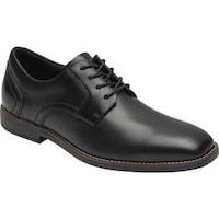 824226ae61ec Shop Rockport Men s Storm Surge Plain Toe Oxford Black Leather - On ...